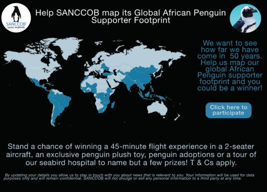 Global African Penguin Footprint Advert_SANCCOB